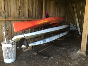 Freestanding Standup Paddleboard Floor Rack