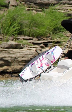 Towerless Wakeboard Rack | Big Air Oasis