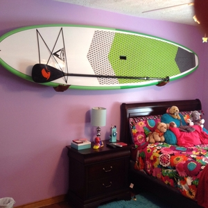Beatnik Wooden Mermaid Tail SUP Rack