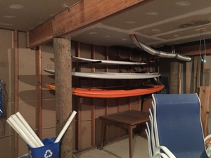 Standup Paddleboard Wall Storage Rack
