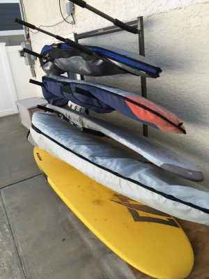 Freestanding Surf Rack | Holds 5 Surfboards