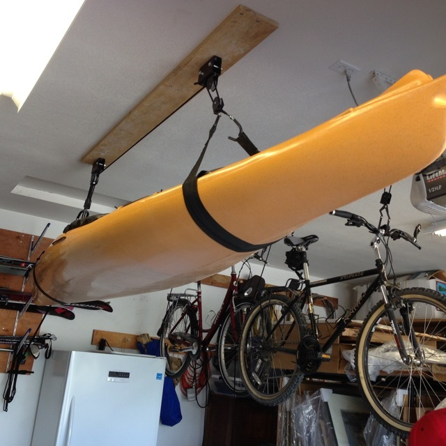 How To Store Kayaks In Garage on walk in garage, archery in garage, wrestling in garage, boxing in garage, shop in garage, kayak lifts for garage, pulley system for garage, plane in garage, shooting in garage, hot tub in garage, surfing in garage, boat in garage, atv in garage, parking in garage, car in garage, limo in garage, kayak holder garage, love in garage, run in garage, helicopter in garage,