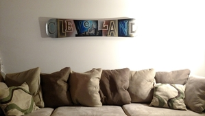 Snowboard Deck Display | Floating Wall Mount
