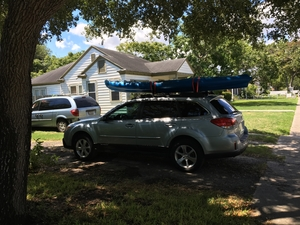 Malone Saddle Up Pro | Large Kayak Roof Rack
