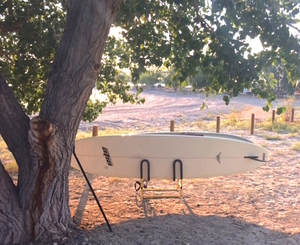 2 Paddleboard Cart and Stand Combo