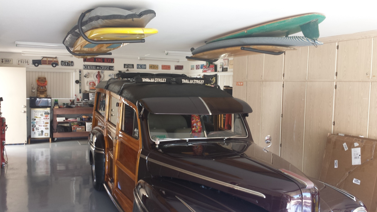 Superieur Surfboard Ceiling Rack | Hi Port 1 Storage Mount