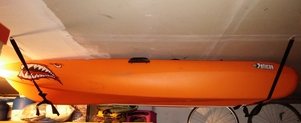 Overhead Kayak Storage | Adjustable Hi-Line