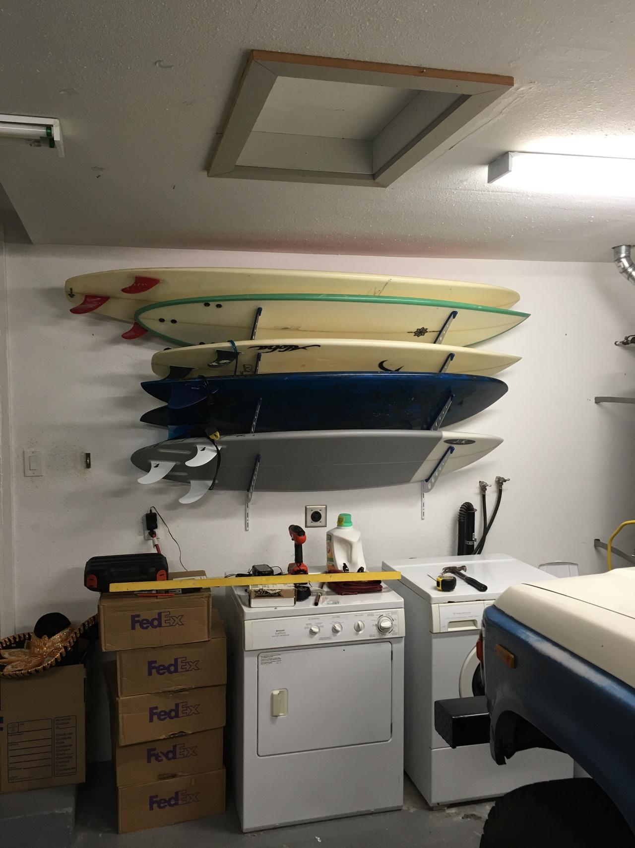 wall cor angle rack surfboard racks sup