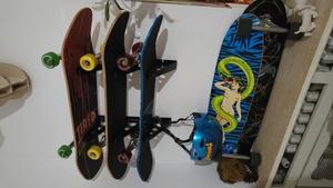 Skateboard Storage Rack   Trifecta Rack