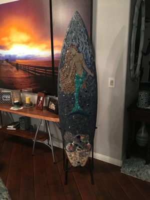 Freestanding Longboard Surf Rack