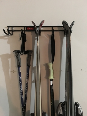 3 Vertical Ski Storage | Wall Rack