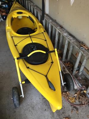 Kayak End Mount Cart | Suspenz Boat Carrier