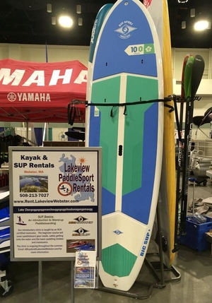 3 Kayak and SUP Stand | Vertical Retail Freestanding Rack