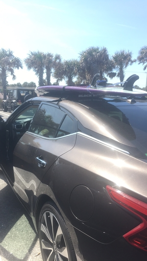 Surfboard Universal Car Rack | Double Soft Rack