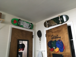 Complete Skateboard Display Rack | Vertical or Horizontal
