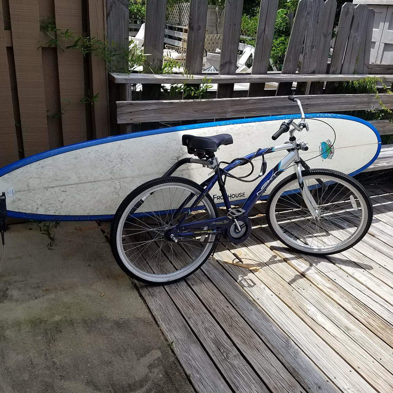Removable Longboard Surfboard Bike Rack Storeyourboard Com