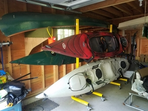 2-Boat Kayak Storage | Freestanding Storage