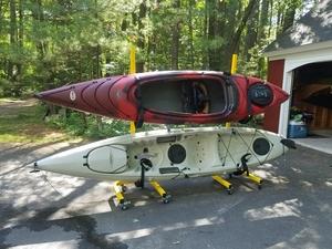 2-Boat Kayak Storage | Freestanding Storage