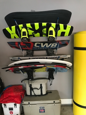 Wake Surf Storage Rack