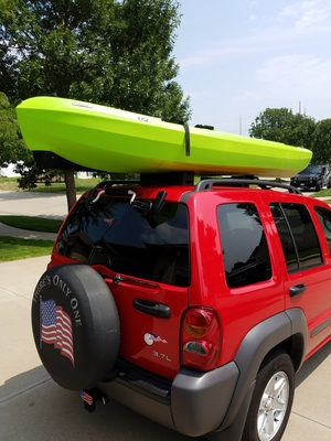 Kayak Lift Assist | Suction Mounted Roof Roller