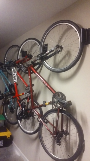 Swivel Bike Hook Rack