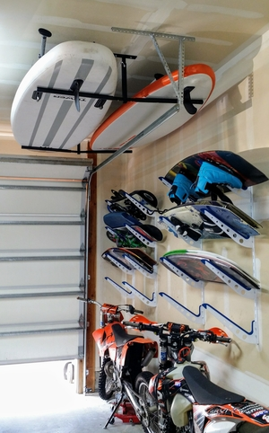 Hi-Port 2 | Adjustable Multi SUP & Surf Ceiling Storage