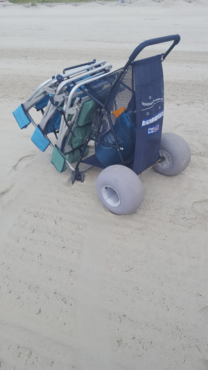 Soft Terrain Beach Wheels | For Kayak Dolly or Beach Cart