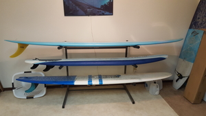 Freestanding Surfboard Floor Rack | 3 Surfboards