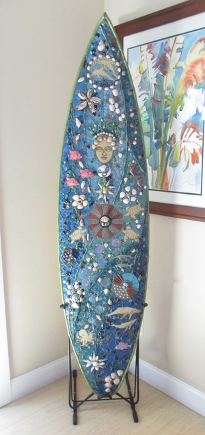 Freestanding Surfboard Rack | Surf Art Display
