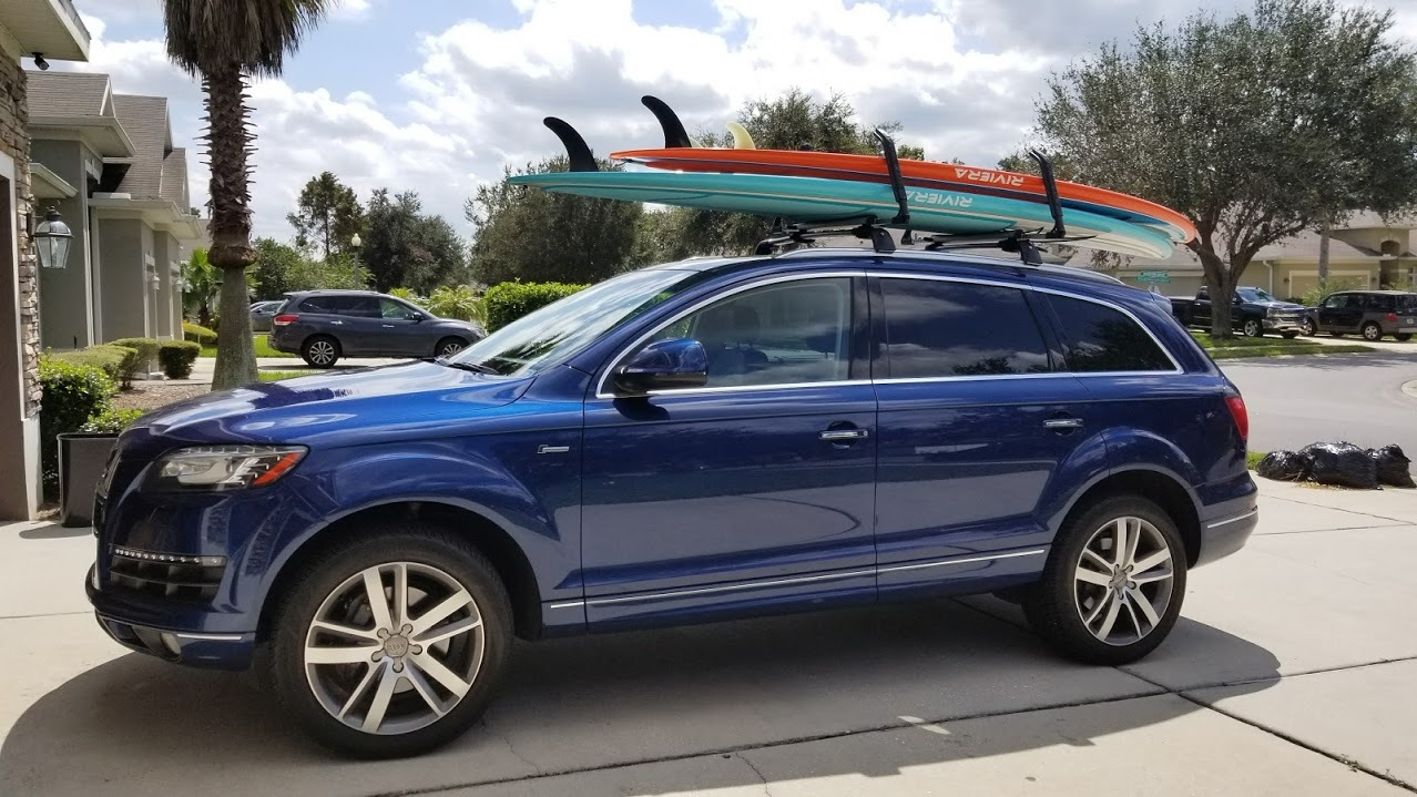 ... Double SUP Locking Roof Rack | Adjustable Arms ...