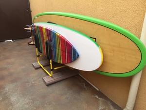 Multi Surfboard Stand | Indoor-Outdoor Surf Rack