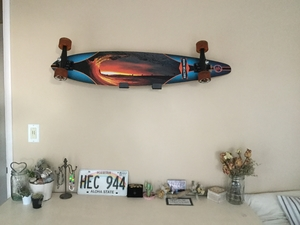 Naked Longboard | Longboard Display Rack