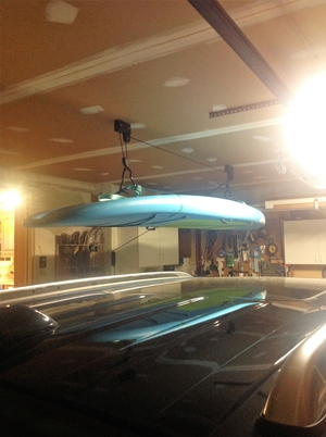 SUP and Surfboard Ceiling Hoist | Hi-Lift