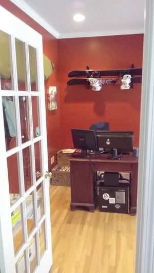 Trifecta Snowboard Storage Rack