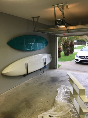 Clear SUP Wall Rack