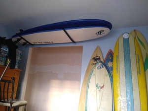 Surfboard Ceiling Rack | Hi-Port 1 Storage Mount