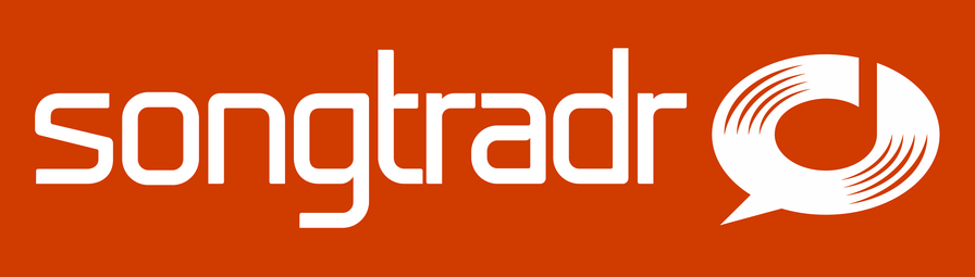 21586 songtradr logo white on orange