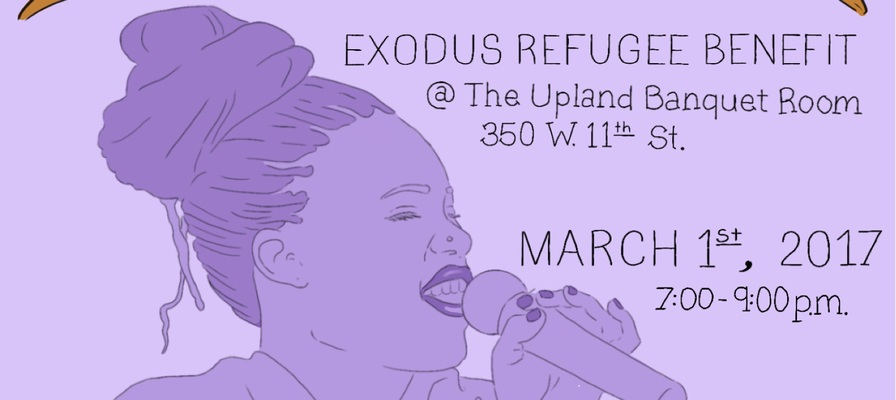 56955 exodus benefit march 1 at upland