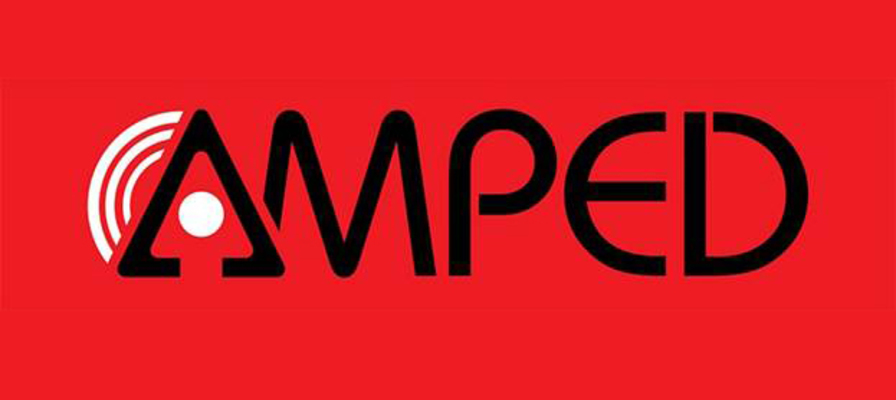 66597 amped distribution logo