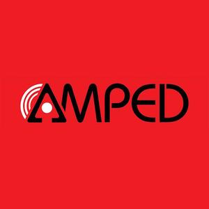 66597 amped distribution logo
