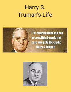 a biography of harry s truman early life In honor of a&e's biography event,  prince harry & meghan markle's wedding album  take a look at pictures from meghan markle's extraordinary life by bio staff.
