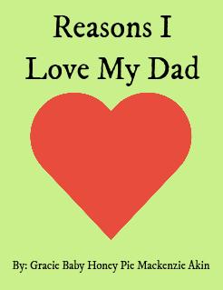 Download Reasons I Love My Dad | My Storybook