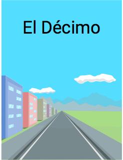 El Décimo Storybook Cover