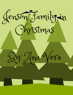 Jenson Family in Christmas  By: Ana Vera Storybook Cover