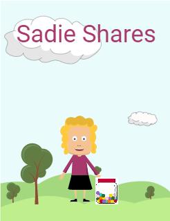 Sadie Is Sharing Storybook Cover