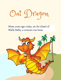 Oat Dragon Storybook Cover