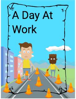 A Day At Work  Storybook Cover