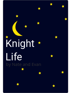 Knight Life Storybook Cover