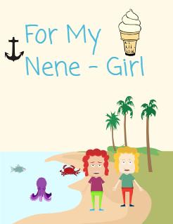 For My Nene - Girl   Storybook Cover