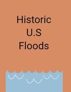 Historic U.S Floods Storybook Cover
